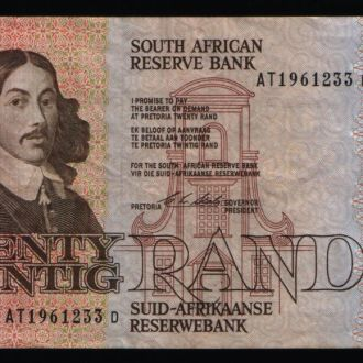 Южная Африка / ЮАР 20 RAND 1982-85 гг
