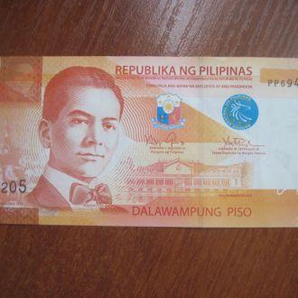 Филиппины 20 писо 2014 UNC