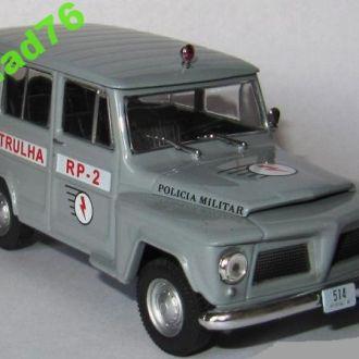 WILLYS RURAL Policia Militar.Пол Бразилии.ПММ №60.