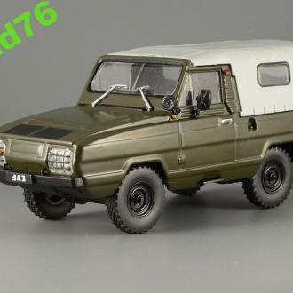 1/43 УАЗ-3907 ЯГУАР. АЛ №154