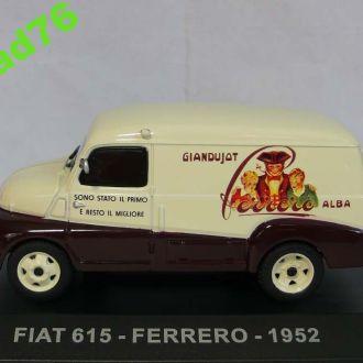 1/43 FIAT-615 FERRERO 1952. IXO-Altaya