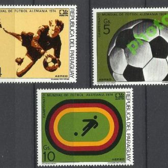 Парагвай 1974 футбол чемпионат мира 3м.**