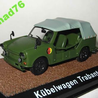 1/43 Trabant P 601A Kubelwagen. Atlas