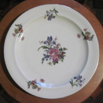 Блюдо, тарелка Лимож. Франция.