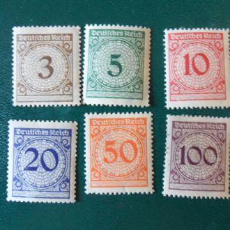 Германия серия Мих.18 Евро