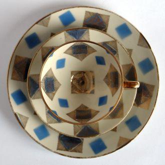 Чашка, блюдце,тарелка BAVARIA, фарфор, №4,Германия