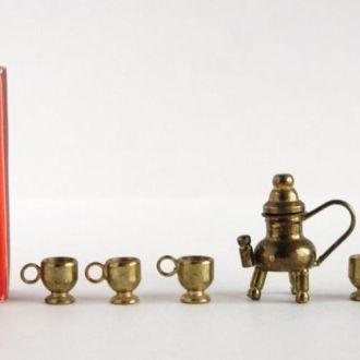 Домашняя утварь, миниатюры №40, латунь, Germany