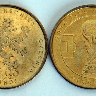 ЧМ по футболу 2006 памятная медаль команда Чехии