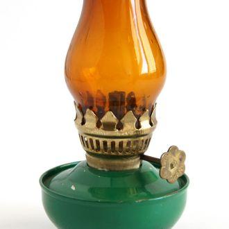Антикварная декоративная масляная лампа №18 1960-е