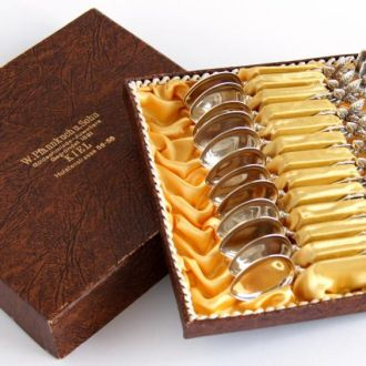 Ложечки 12 шт серебро 800 проба CHRISTOPH WIDMANN