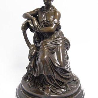 Большая скульптура статуэтка бронза мрамор.Доставка бесплатно !