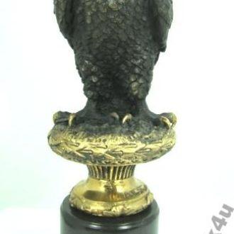 статуэтка Сокол Орел бронза мрамор .Доставка бесплатно !