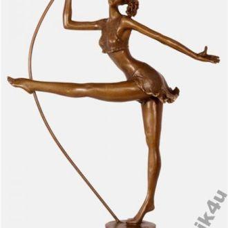 статуэтка балерина танцовщица бронза L.Bistolfi. Доставка бесплатно !