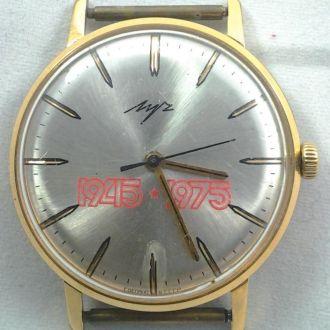 Часы наручные Луч 45-75 года позолоченные