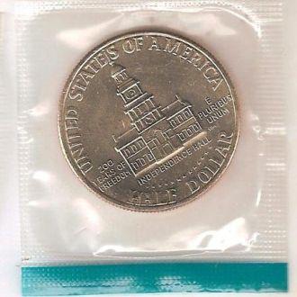 Юбилейные 50 центов (UNC) (В запайке) (1976) США