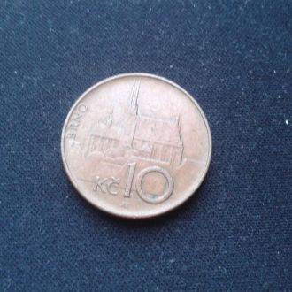10 крон 1996 г.