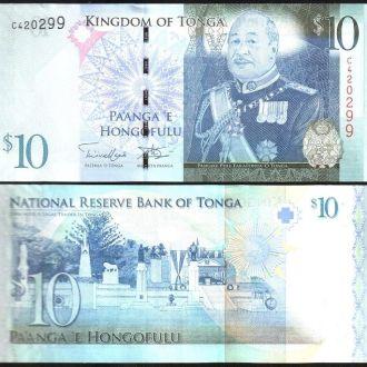Tonga / Тонга - 10 Pa'anga 2009 (2014)  - UNC