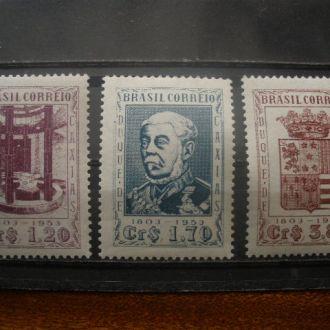 Бразилия.1953г. Герцогская семя Каксиас. MVLH