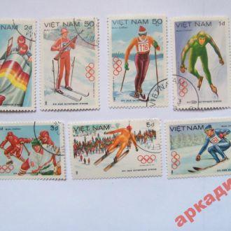 марки-Вьетнам  с 1 гр 1984 год(А1) Спорт-7марок