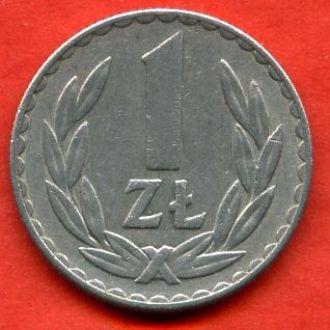 1 злотый 1976