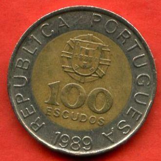 100 эскудо 1989