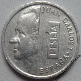 Испания 1 песета 1997