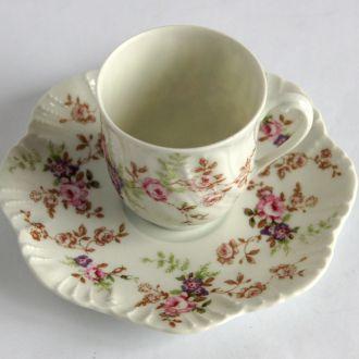 Кофейная чашка блюдце Royal Limoges №3 1960 France