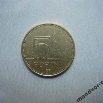 Венгрия 5 форинтов 1994 фауна