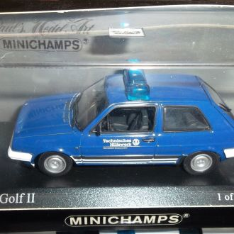 VW Golf II,Minichamps 1:43