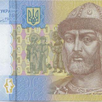 Украина_ 1 гривня 2014 року UNC Гонтарева СА