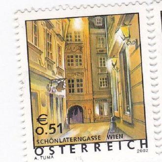 Австрия - Вена 1 марка 2002 JavirNV