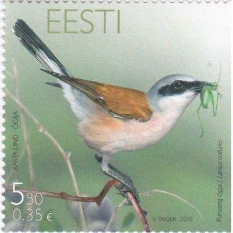 Эстония - Птица - 1 марка 2010 JavirNV