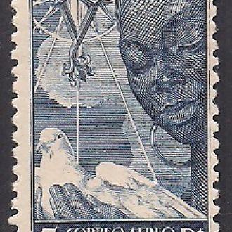 Испанские колонии GUINEA 1951 АВИАЦИЯ MNH 25 ЕВРО