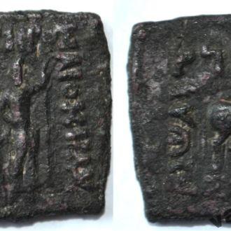 Бактрия. Диомед. 95-90 BC. бронза