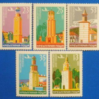 Болгария. 1980 г. Архитектура**