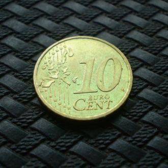 Финляндия 10 евроцентов 1999 г.