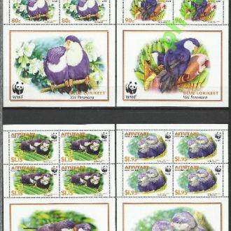 Аитутаки 2002 фауна птицы ВВФ 4Клб**