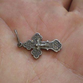 Крест серебро.1.5гр.