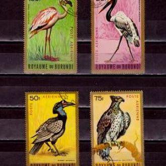 Фауна.Бурунди.Птицы  4м. Г8