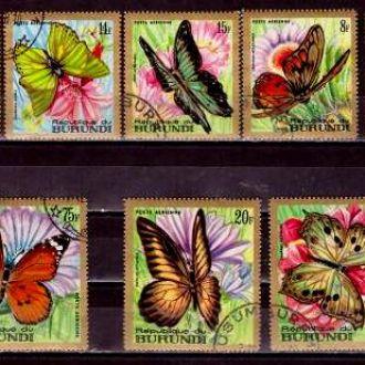 Фауна.Бурунди.Бабочки  8м. Г11