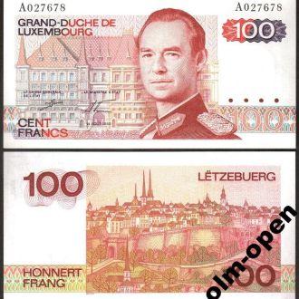 Luxembourg / Люксембург - 100 Francs 1980 UNC OLM