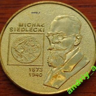 Польша 2 злотих (злотых) Михал Седлецкий  2001