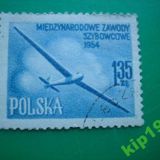 Польша 1954 Авиация  *