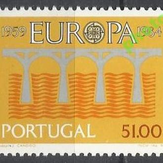 Португалия 1984 Европа СЕПТ мост 1м.**