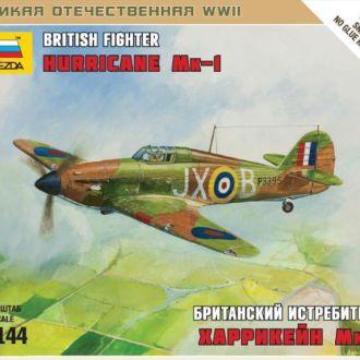 Британский истребитель Hurricane MK-1 Звезда6173