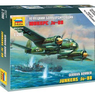 Немецкий бомбардировщик Юнкерс Ju-88 Звезда6186