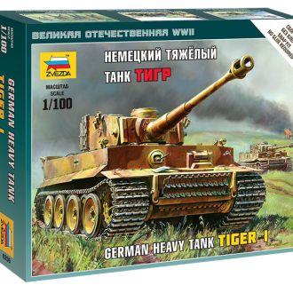 Немецкий тяжелый танк Pz-VI Тигр Звезда6256
