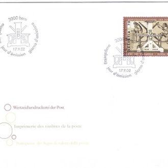 Швейцария 2002 КПД Mi № 1807