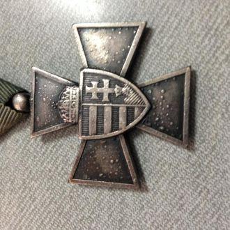 крест за храбрость 1940г.