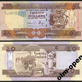 Solomon Is/ Соломоновы о-ва - 20 Dollars 2011 C/4